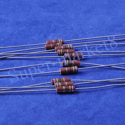 10pcs 75 Ohm 75r 12w Carbon Comp Composition Resistor Allen Style