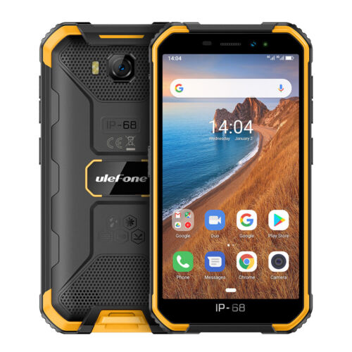 Android Phone - Ulefone Armor X6 Rugged Smartphone Android 9.0 Dual SIM Mobile Phone Waterproof
