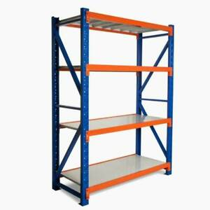 1.5M X 2M X 0.6M Heavy Duty Metal Steel Storage Shelving for Garage