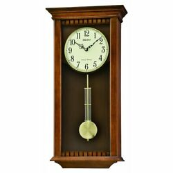 Seiko QXH064BLH Wall Clock with Pendulum and Chime