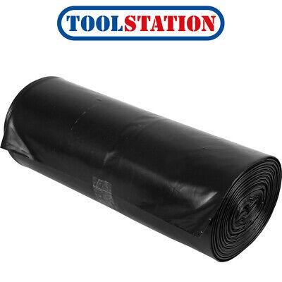 Black Rubble Sack 535mm x 820mm Roll