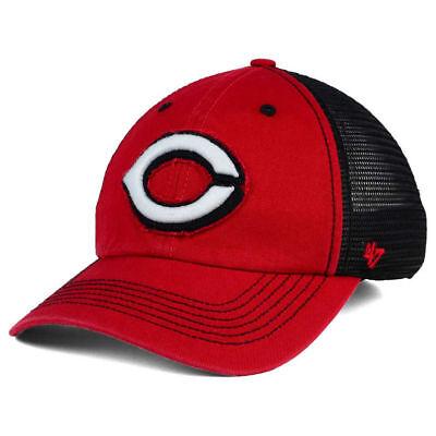 Cincinnati Reds MLB '47 Brand Taylor Closer 2-Tone Cap Hat Mesh Men's Baseball C