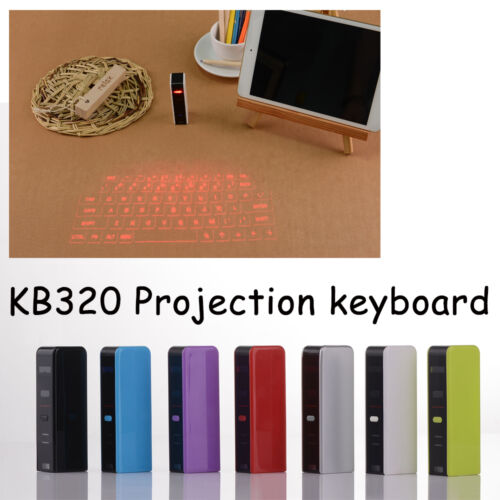 Wireless Bluetooth Laser Projection Virtual Keyboard for Smart phone PC Tablet