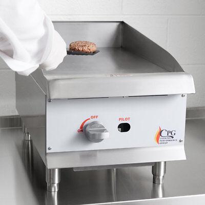15 Natural Gas Commercial Restaurant Kitchen Countertop Griddle
