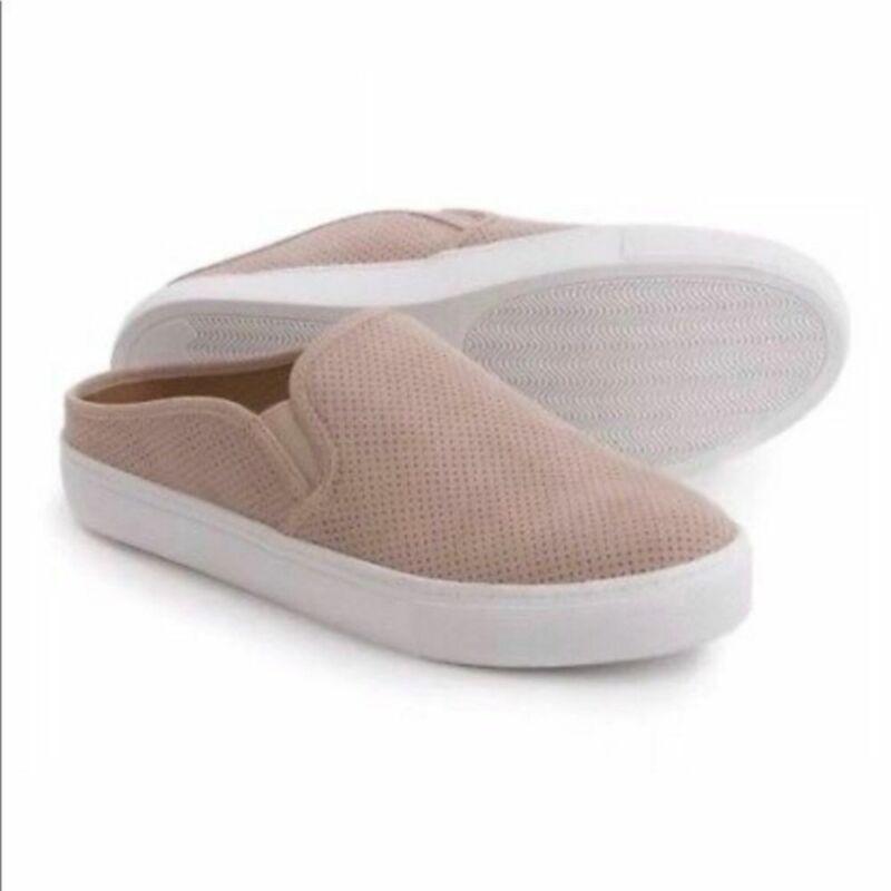 Steve Madden Geena blush pink slip on sneakers slides size 8.5