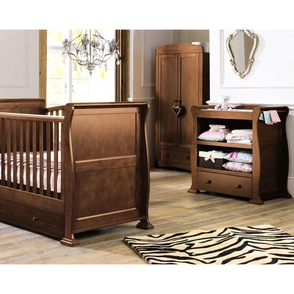 Solid Wood Nursery Furniture Set In Milton Keynes Buckinghamshire Gumtree