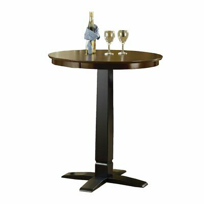Dynamic Designs Pub Table - Black/Brown - Dynamic Designs Brown Cherry