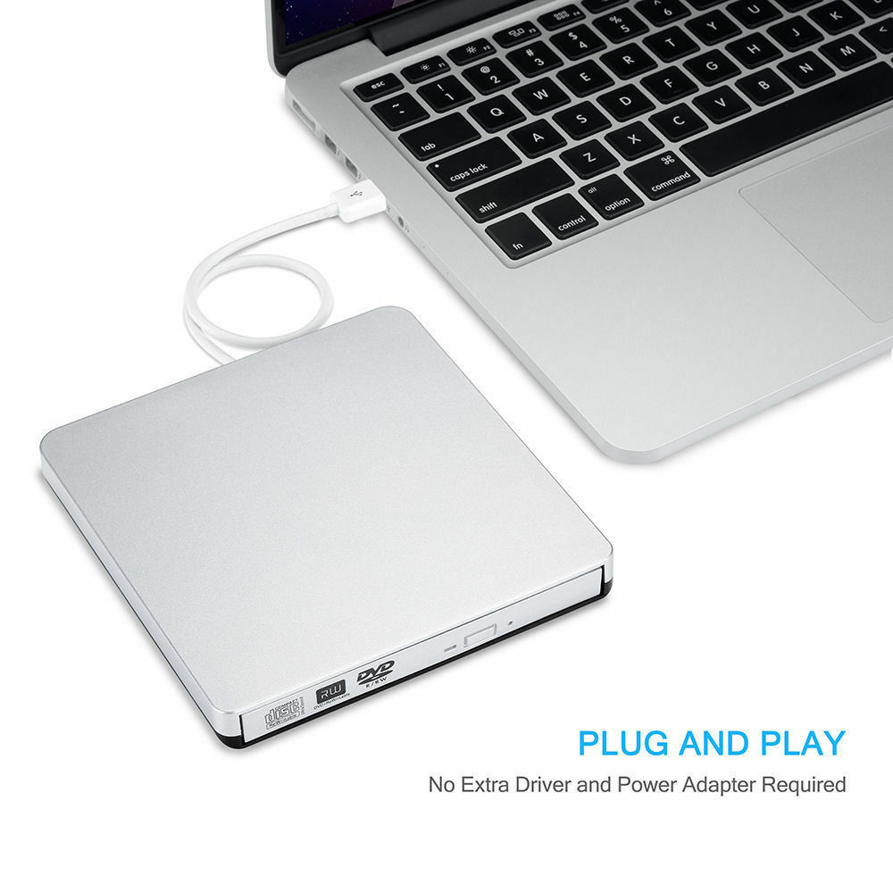 external usb2 0 dvd cd rw drive writer burner dvd player for mac macbook air pro 743828028879 ebay. Black Bedroom Furniture Sets. Home Design Ideas