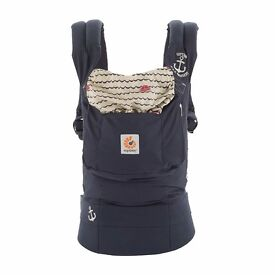 Ergobaby Original Baby Carrier - Sailor print - barely used, perfect condition, below half price