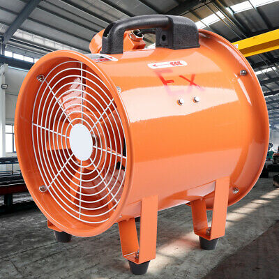 Ex Rated Exhaust Fan 12 Explosion-proof 55-62mmin Axial Flow Fan 370w Blowers