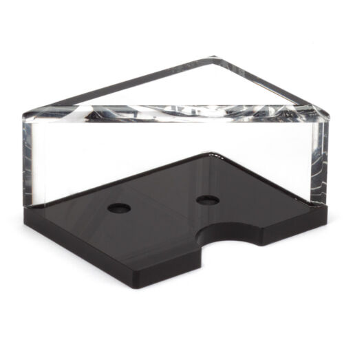 Casino Grade Acrylic 2 Deck Discard Holder Tray For Blackjack Game