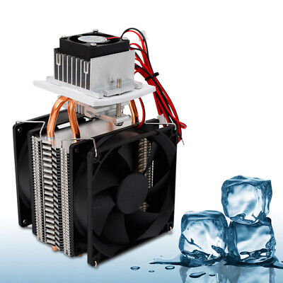 72w Peltier Cooler 12v Semiconductor Refrigeration Thermoelectric Air Cooling