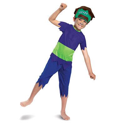 Mash Halloween Costumes (Netflix Super Monsters Frankie Mash Classic 3T-4T Toddler)