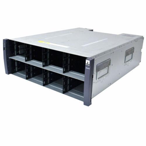 NetApp DS4243 NAJ-0801 Storage Shelf 2x IOM3 Controller 4x PS No HD