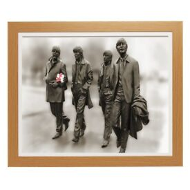 The Beatles Framed a Print Size 20 X 16 The world 1960s Featuring John Paul George and Ringo