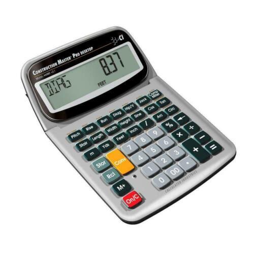 Calculated Industries Construction Master Pro Desktop w/Full Trigonometric Func