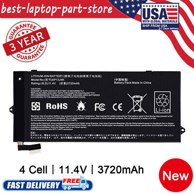 For Acer Chromebook C720 C720P Laptop Battery AP13J4K