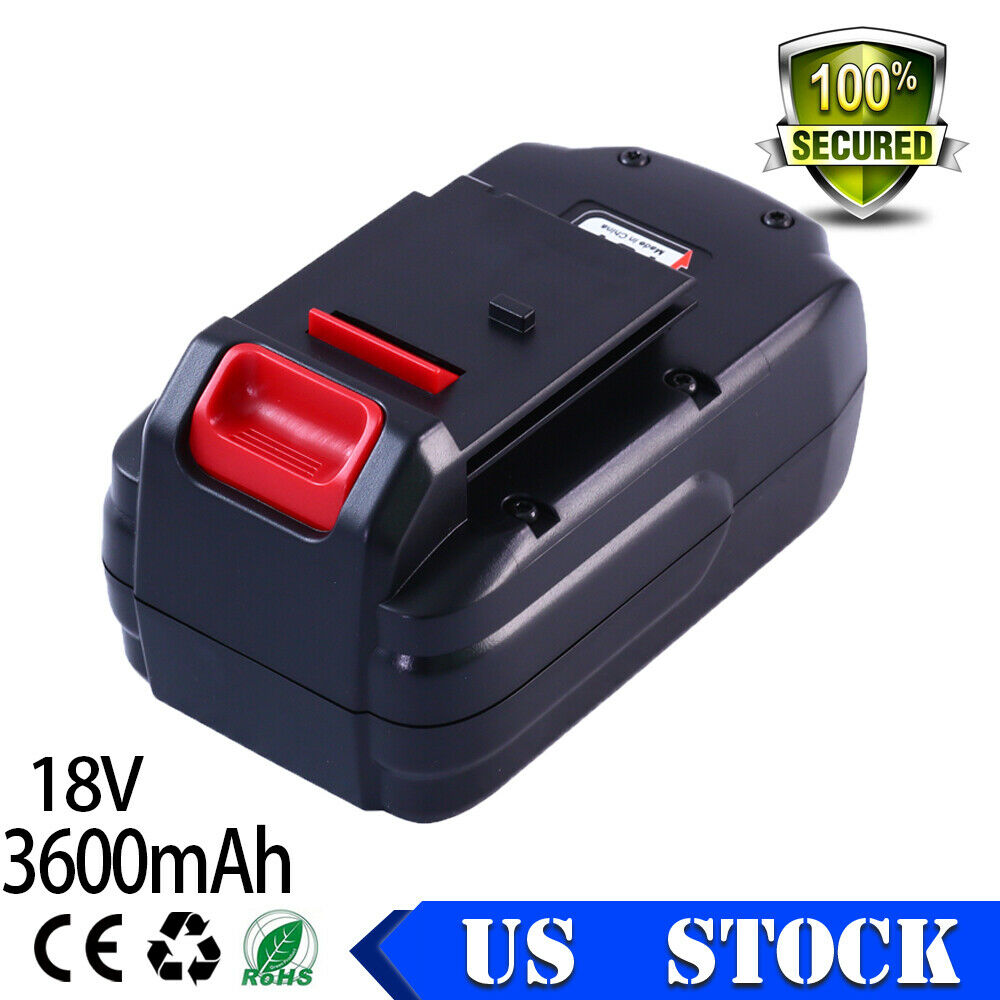 Replacement For PORTER-CABLE 18Volt 3.6Ah BATTERY PC18B-2 PC
