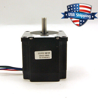 Nema 23 Cnc Stepper Motor 1.26nm179oz.in Bipolar Diy Cnc Router Mill