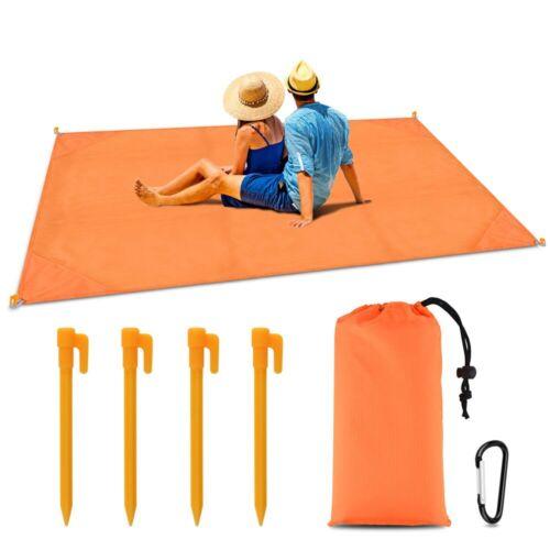 Hot Outdoor Anti Sand Beach Waterproof Mat Camping Picnic Si