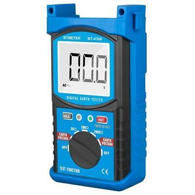 Digital Earth Ground Resistance Tester 200v 2000 Insulation Tester Megohm Meter