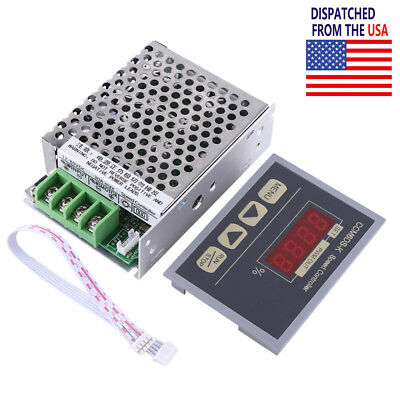 12-80v 30a Pwm Dc Motor Speed Controller With Digital Display Panel Slow Start