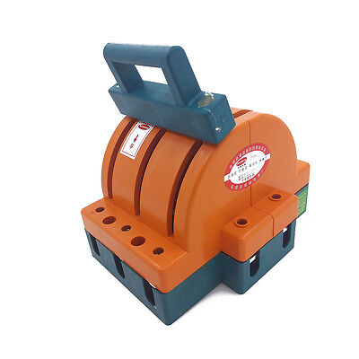 Heavy Duty 100a Three Poles Double Throw Knife Disconnect Switch Safety Blade