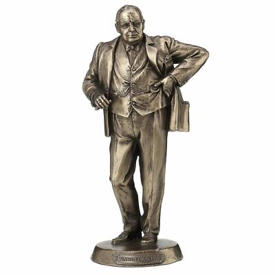 Bronce Winston Churchill Estatua Busto Adorno Figurita Político Prima Ministro segunda mano  Embacar hacia Argentina