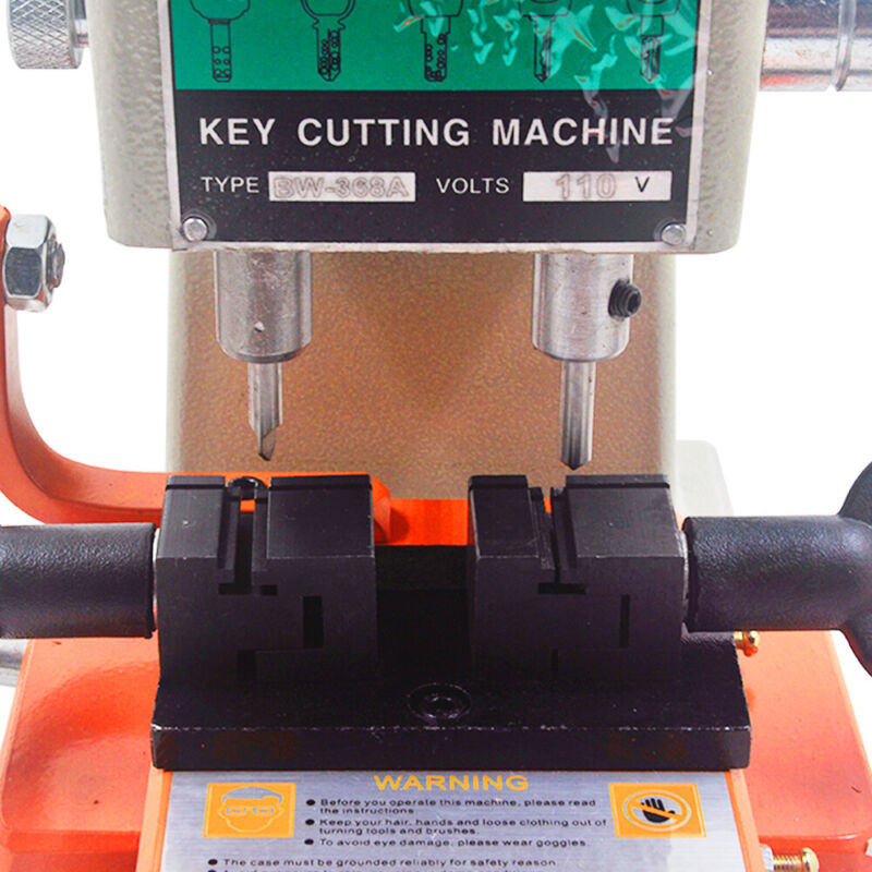 368 Key Duplicating Machine Key Guide Reproducer Reproducing Cutter Engrave