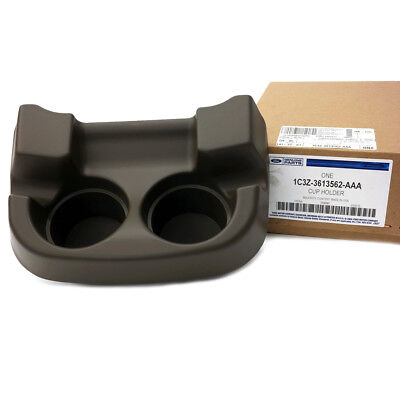 OEM NEW Front Center Console Cup Holder Flint Black Super Duty 1C3Z3613562AAA