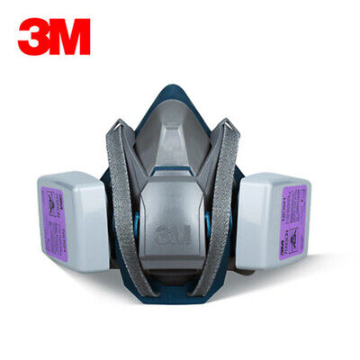 3m 6503ql Half Facepiece Respirator W 1 Pair Of 7093 P1oo Filters Size Large