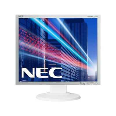 NEC MultiSync EA192M 19 Zoll Monitor 5ms VGA DVI DisplayPort weiß/silber (mk)