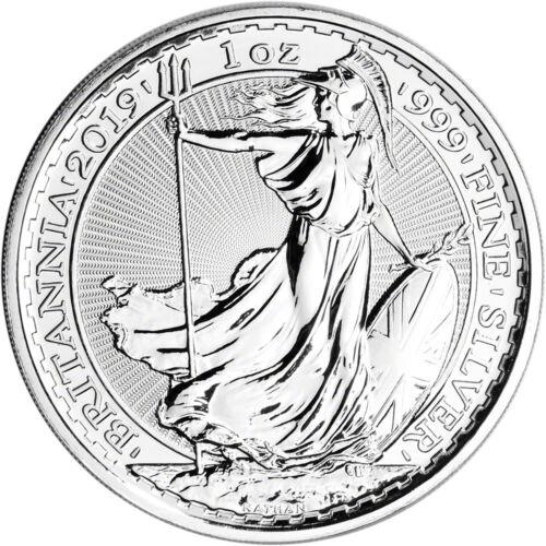 Купить 2019 Great Britain Silver Britannia £2 - 1 oz - BU