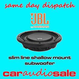 JBL-MS-10SD2-10-INCH-1000-WATT-DVC-SLIM-LINE-SHALLOW-MOUNT-CAR-SUBWOOFER