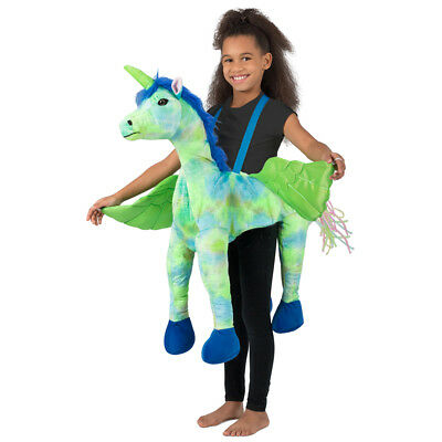 Baby In Halloween Costumes (Child Rainbow Unicorn Ride-In Halloween)