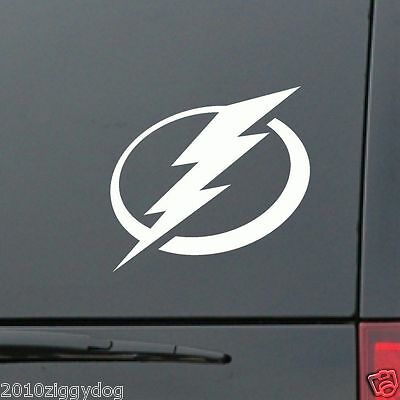 Tampa Bay Lightning Window Cling Decal 4 inch - Buy 1 Get 1 Free NHL Decal  Tampa Bay Lightning Window