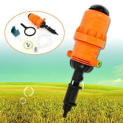 NEW Fertilizer Injector Dispenser Proportione Water-driven Chemical Injector