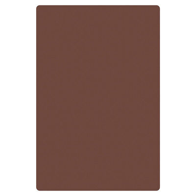 Thunder Group 18 X 24 X 12 Brown Polyethylene Non-skid Cutting Board