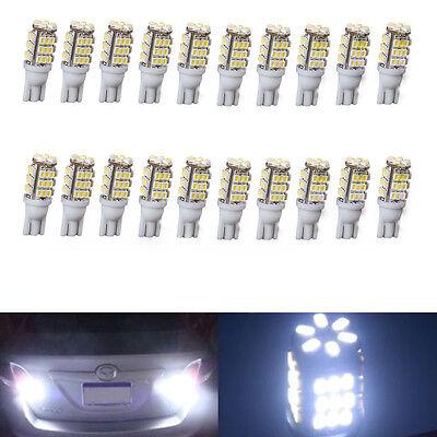 20X T10 Cool White Car 42 Smd Backup Reverse Led Light Bulb 921 912 906 168 W5w