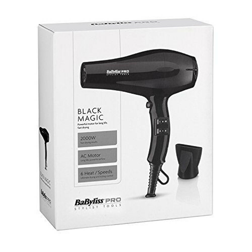Professional Babyliss Pro Black Magic Hair Dryer Hotel, Gues