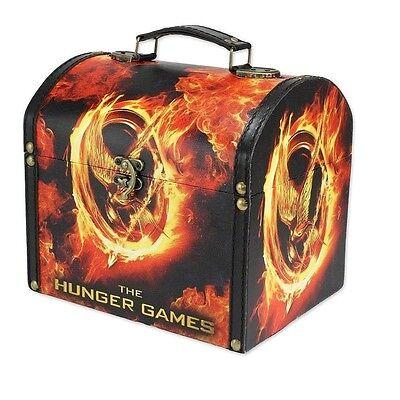 NECA Hunger Games NEW District 12 Mockingjay Vintage Carrying Makeup Case