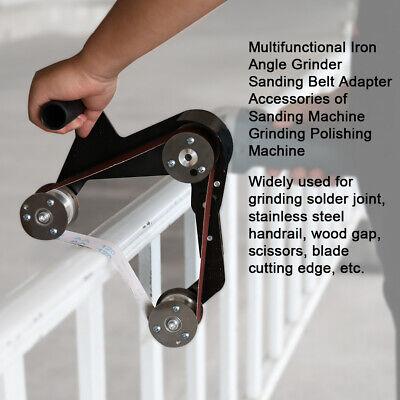 angle grinder pipe tube belt sander attachment