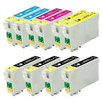 10 INK Pack FOR EPSON 125 T125 STYLUS NX125 NX230 NX420 NX625
