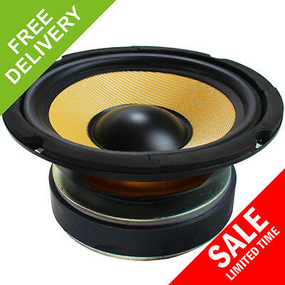 "6.5"" Inch 250W Passive Replacement Hifi Woofer Driver Speaker with Kevlar Cone"