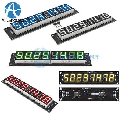 0.567-segment 8-digit Led Digital Display 74hc595 Tube Module Yellowgreenblue