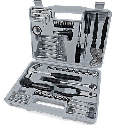 Werkzeugset 141 tlg Werkzeugkoffer Werkzeug Set Werkzeugkasten Werkzeugkiste