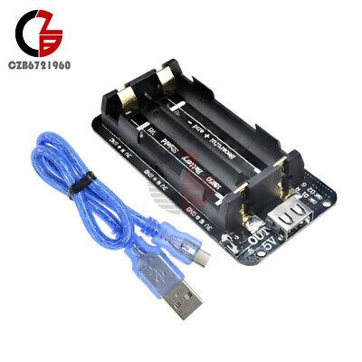 Dual Volt 3v5v 18650 Battery Shield V8 For Arduino Esp32 Wifi Esp8266 Board