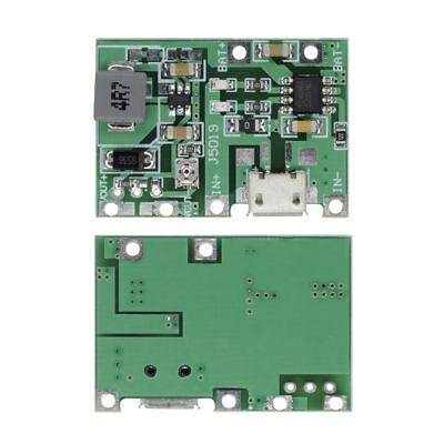 Lithium Li-ion 18650 3.7v 4.2v Battery Charger Board 9v Dc Step Up Boost Module