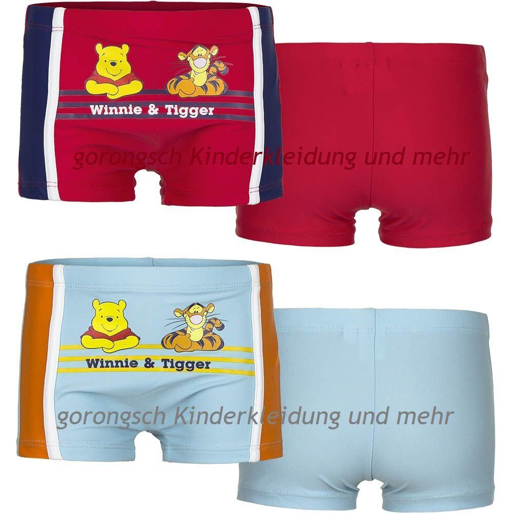 Disney Winnie Pooh & Tigger Badehose Badeboxer Baby Gr. 68 - 86