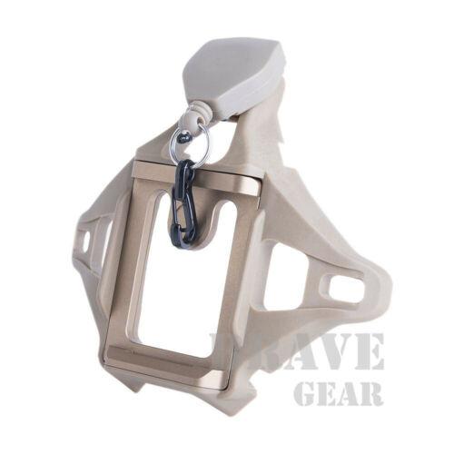 3 Hole Shroud Night Vision FAST MICH ACH ECH PASGT Helmet Mount W/NVG Lanyard